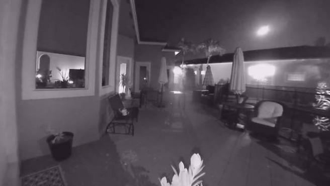 Un meteorito ha caído cerca de una casa en Florida.