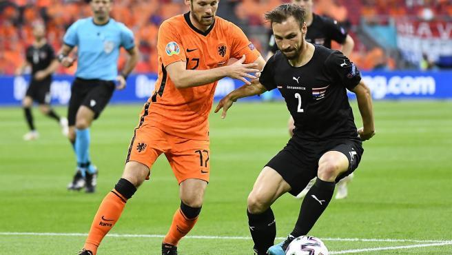 Países Bajos vs Austria.
