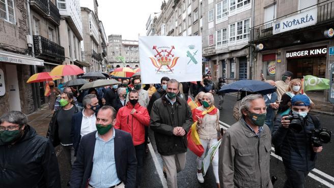 """Vox tacha a """"Castelao-Feijóo"""" de """"cobarde"""" y """"cínico"""" por la postura del PP sobre la transferencia de tráfico a Galicia"""