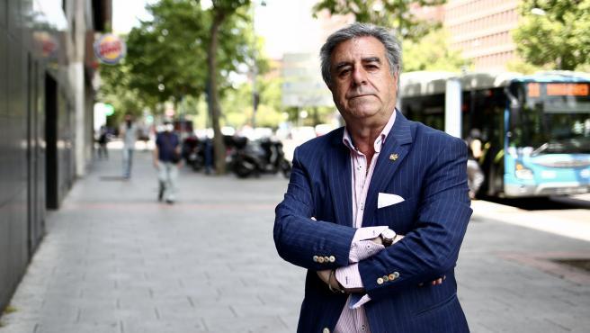 El periodista y escritor Graciano Palomo.