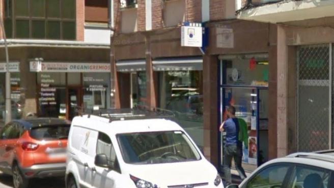Administración de Loterías en Amorebieta, Vizcaya.