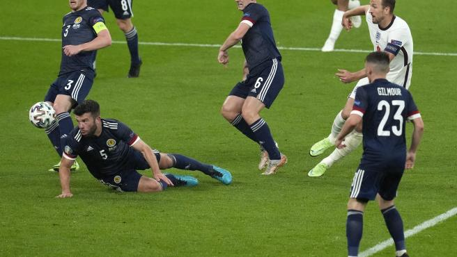 Inglaterra vs Escocia.