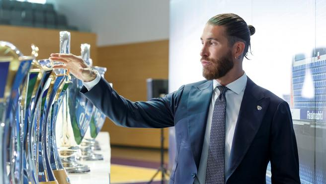 Sergio Ramos, en su despedida del Real Madrid