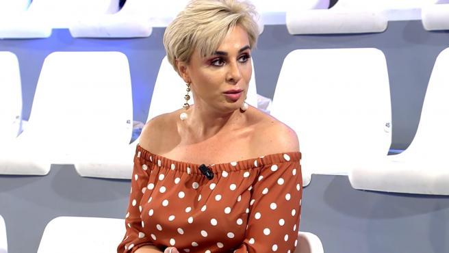 Ana María Aldón, en el plató de 'Viva la vida'.