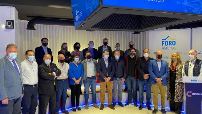 """Foro se refunda para empezar a construir """"la alternativa que Asturias necesita con urgencia para sobrevivir"""""""