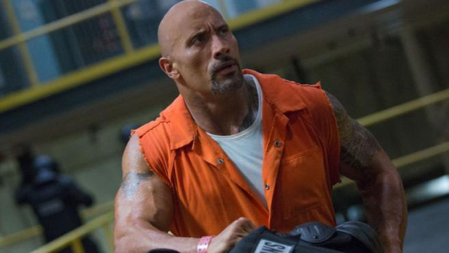Dwayne Johnson en 'Fast & Furious: Hobbs and Shaw'