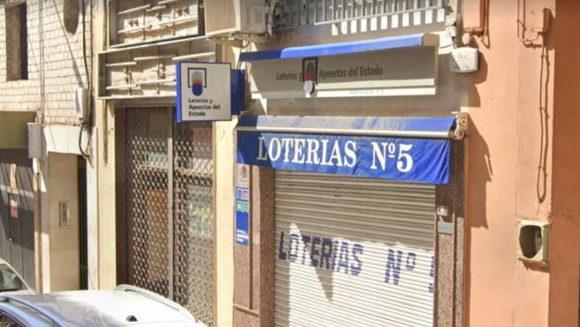 Administración nº 5 de Loterías en Linares, Jaén.