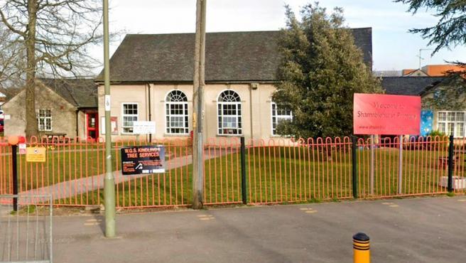 Imafen de la escuela de primaria de Shamblehurst, en Reino Unido.