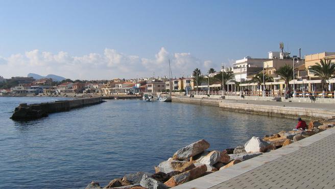 Imagen del puerto de Cabo de Palos, en Murcia.