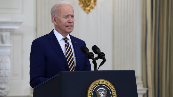 El presidente de EE UU, Joe Biden, en una imagen de archivo.