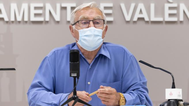 Archivo - L'alcalde de València, Joan Ribó, en una imatge recent.