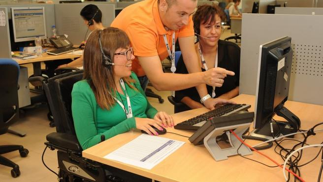 Inserta imparte en Huelva un curso de formación para el empleo para personas con discapacidad