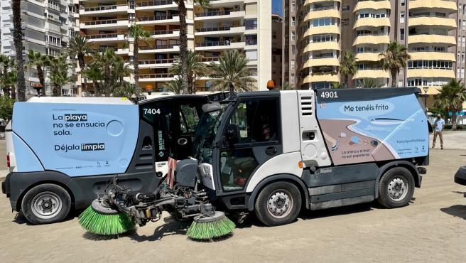 Málaga reactiva su campaña de concienciación ciudadana para el cuidado de las playas