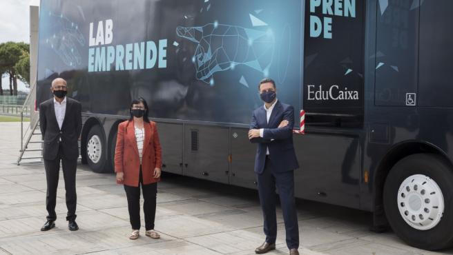 Arranca el LabEmprende, un bus interactivo que viajará por toda España para despertar habilidades emprendedoras