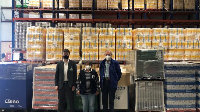 Mercadona dona más de 7.000 kilos de productos de primera necesidad a la Fundación Banco de Alimentos de Navarra