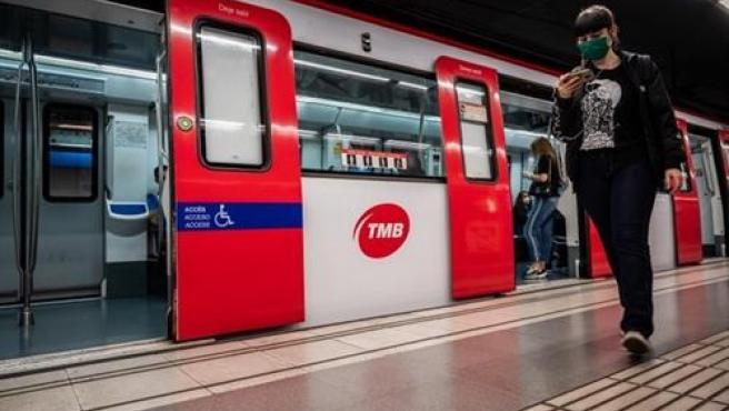 Metro de Barcelona en una foto de archivo.