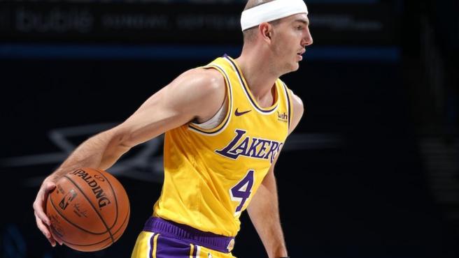 Alex Caruso, jugador de la NBA.