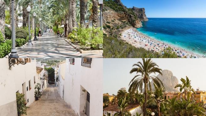 Altea, Jávea o Calpe son algunos de los lugares más turísticos de la provincia de Alicante