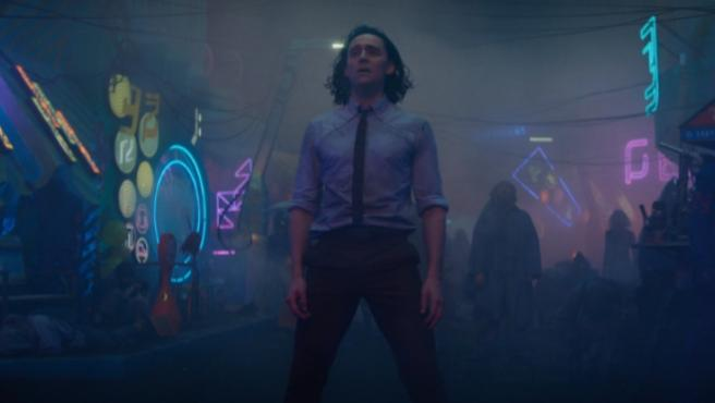 Loki (Tom Hiddleston) en el episodio 3
