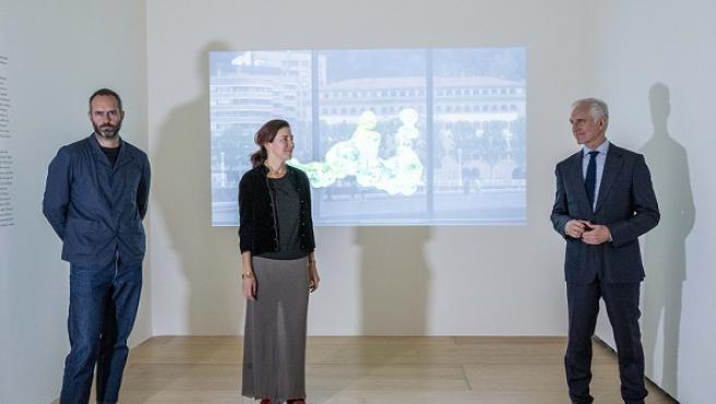 Guggenheim Bilbao expone tres videoesculturas de la artista Cecilia Bengolea con coreografías inspiradas en el agua