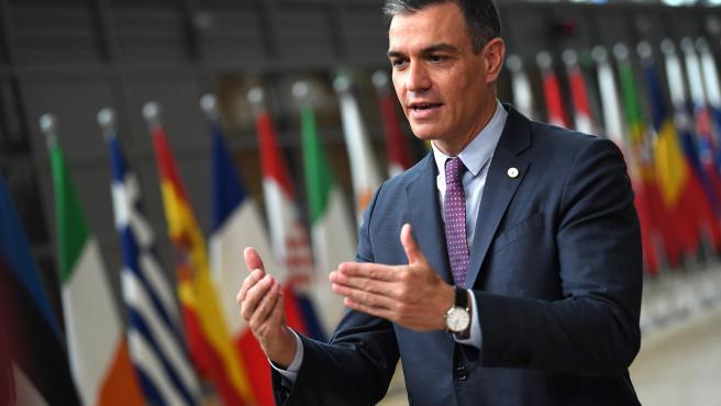 El presidente del Gobierno, Pedro Sánchez, ha estado en la reunión del Consejo Europeo que se celebra en Bruselas