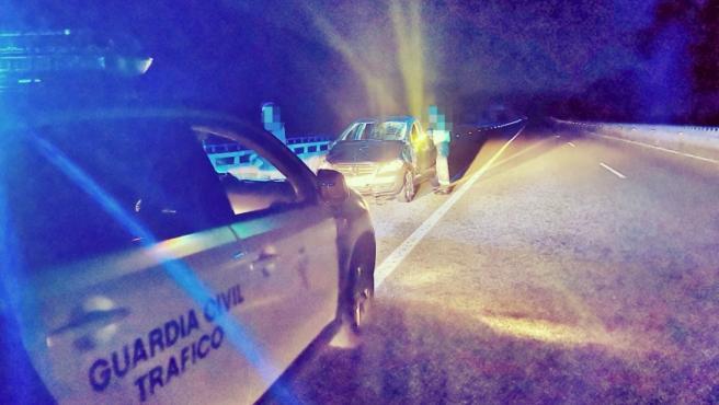 Investigado un conductor interceptado en Verín (Ourense) tras circular 31 kilómetros en sentido contrario por la A-52