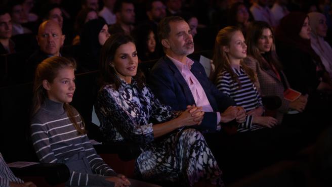Los Reyes y la princesa Leonor entregarán el jueves en Barcelona los Premios FPdGi