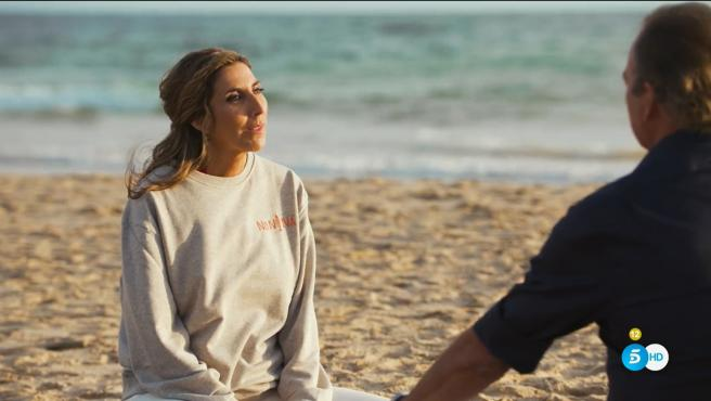 Paz Padilla y Bertín Osborne, en 'Mi casa es la tuya'.