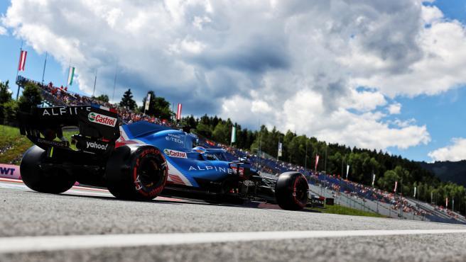 Fernando Alonso, en el GP de Estiria