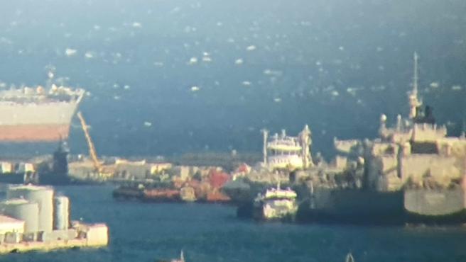 Ecologistas critican la llegada del submarino nuclear 'USS Maryland' a Gibraltar