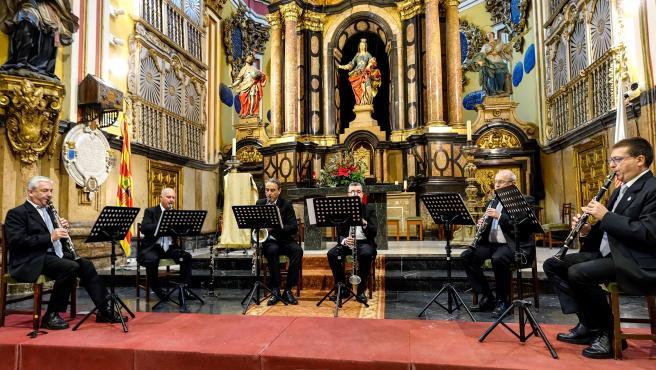 El grupo instrumental de la DPZ ofrece esta semana dos conciertos con motivo de la fiesta de Santa Isabel