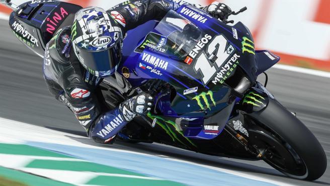 Maverick Viñales, Yamaha rider.