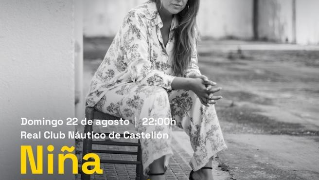 Niña Pastori actuarà el 22 d'agost