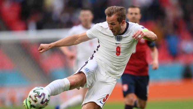 Harry Kane. jugador de la selección de Inglaterra.
