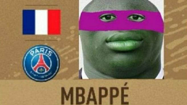 Meme de Mbappé, tras los penaltis del Suiza - Francia