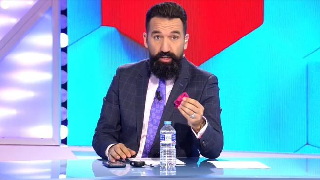 Miguel Lago interviene en el programa 'Todo es mentira'.
