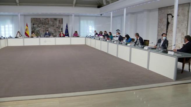 Pedro Sánchez preside el Consejo de Ministros
