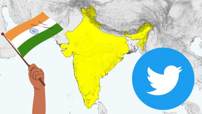 Twitter no está de acuerdo con la nueva regulación india.