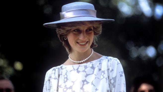 La princesa Diana de Gales, durante una visita a Ottawa, Canada.