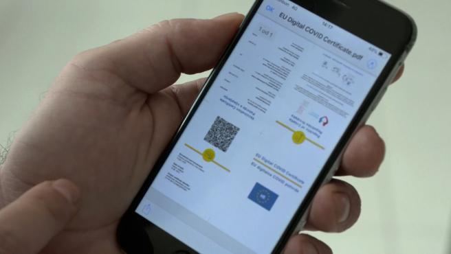 Entra en vigor el pasaporte COVID de la UE