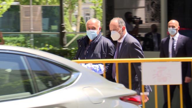 José Luis Moreno, en libertad bajo fianza de 3 millones