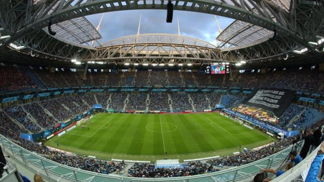 Imagen del Estadio Krestovski.