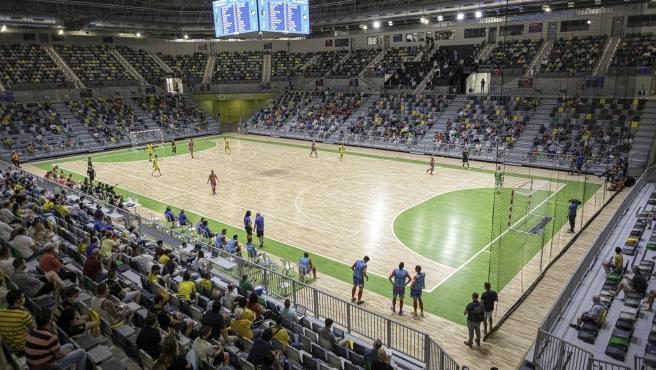 MásJaén.- El Olivo Arena inaugura su actividad con un partido de fútbol sala