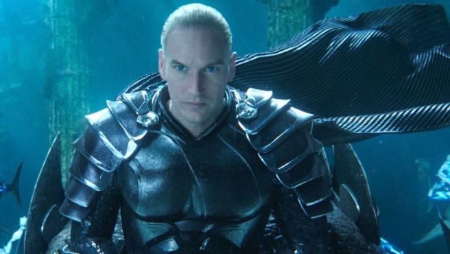Patrick Wilson como Orm en 'Aquaman'