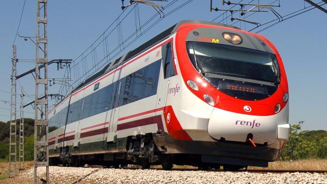 Tren de Cercanías de Renfe del área de València.