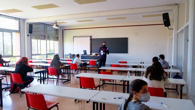El próximo lunes comienza la convocatoria extraordinaria de la EBAU en La Rioja en la que se examinarán 217 estudiantes
