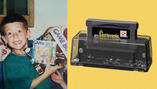 Vuelve a sentirte como un niño usando los cartuchos originales de la Game Boy.