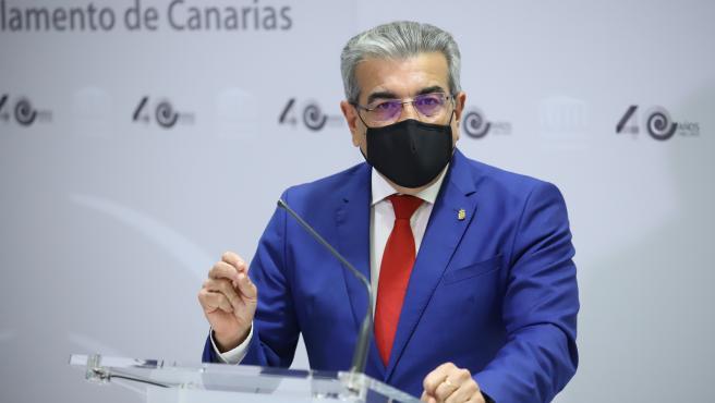 """NC pide una reunión urgente con el PSOE por el """"incumplimiento"""" del acuerdo de Legislatura con el REF"""
