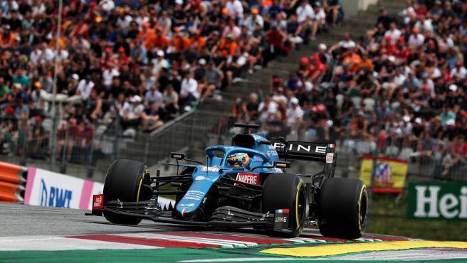 Fernando Alonso, at the Austrian GP