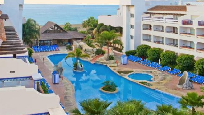 Hotel Iberostar en la Costa del Sol.